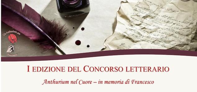 Lamezia. Concorso letterario di poesia Anthurium nel cuore – in memoria di Francesco
