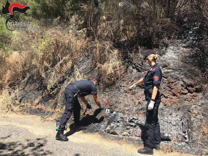 Lattarico (CS). Appiccano fuoco, indagati due giovani