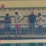Massimiliano Rosolino inaugura la stagione agonistica della Arvalia Nuoto