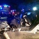Nocera Terinese (CZ). Quattro feriti gravi per un incidente sulla SS18