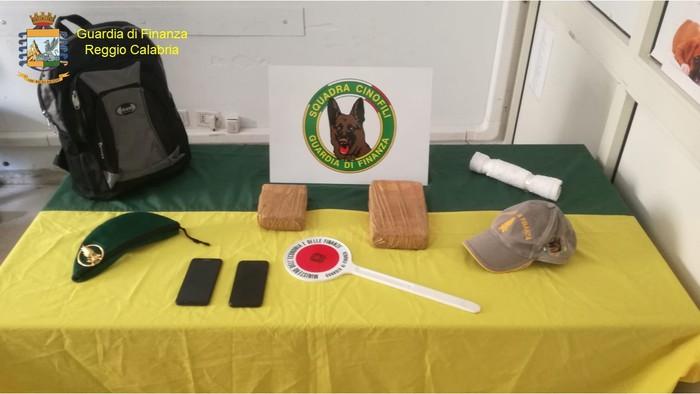 Reggio Calabria. Sequestrati 1,6 kg di cocaina, un arresto
