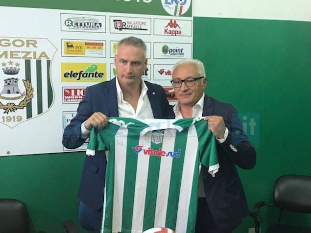 Vigor Lamezia Calcio 1919 presenta la partnership con Riviera dei Tramonti