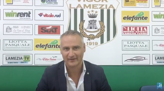 Vigor Lamezia Calcio 1919 in Eccellenza: intervista a Marco Rettura