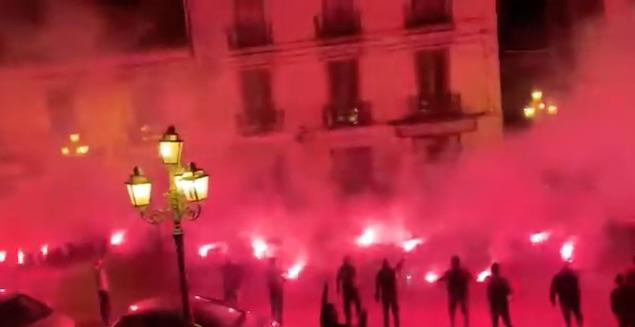 100 anni di Vigor: i tifosi scendono in piazza a festeggiare