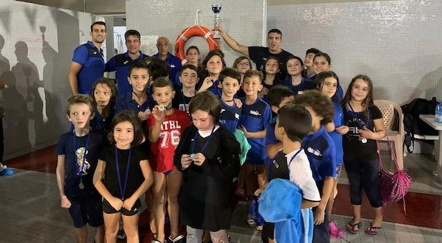 Arvalia dedica terzo posto al trofeo delle Serre a giovane nuotatore scomparso