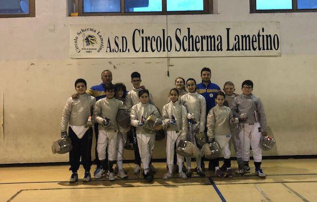 Il Circolo Scherma Lametino al GPG Under 14 di Lucca