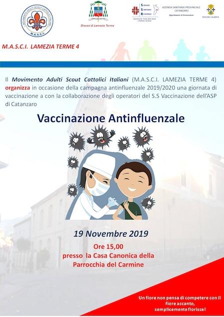 Giornata di vaccinazione con il Masci Lamezia Terme 4