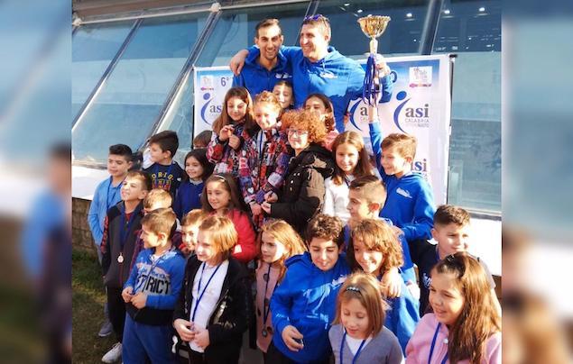 La Arvalia Nuoto Lamezia impegnata nelle gare Asi di Reggio Calabria