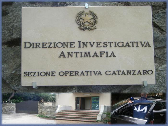 Dia, sezione operativa Catanzaro