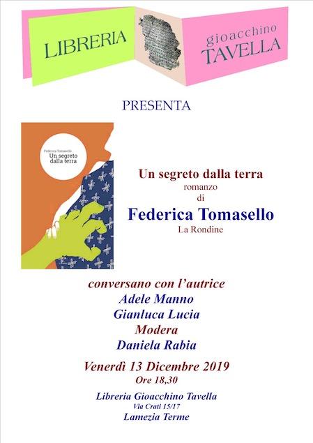 Il 13 dicembre presentazione del romanzo d'esordio della lametina Federica Tomasello
