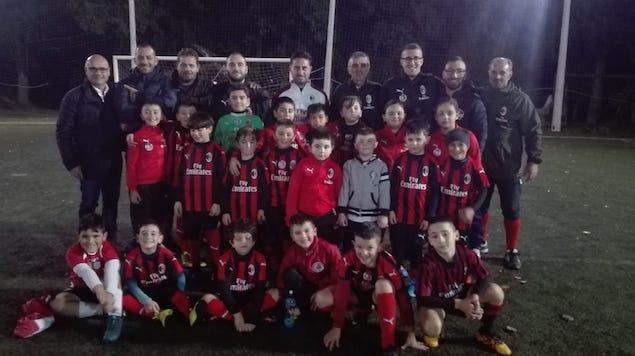 Scuola Calcio Milan Academy Lamezia si allena con mister Fortunato