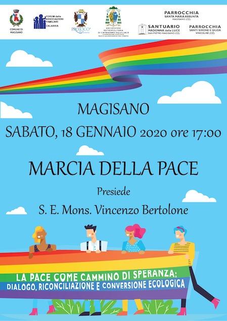 Il 18 gennaio a Magisano la Marcia Diocesana della Pace