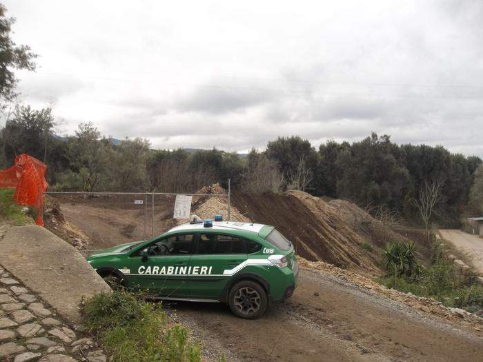 Cittanova (RC). Sequestrato terreno discarica inerti