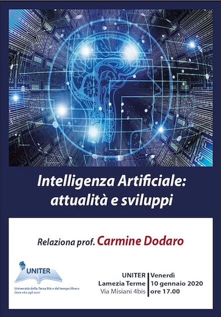 Lamezia. All'Uniter seminario sull'intelligenza artificiale