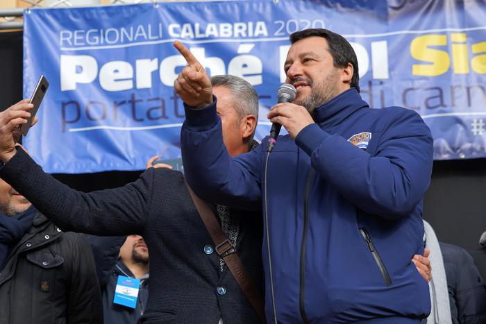 Calabria: Salvini, Pd perde di 20 punti e Lega prima