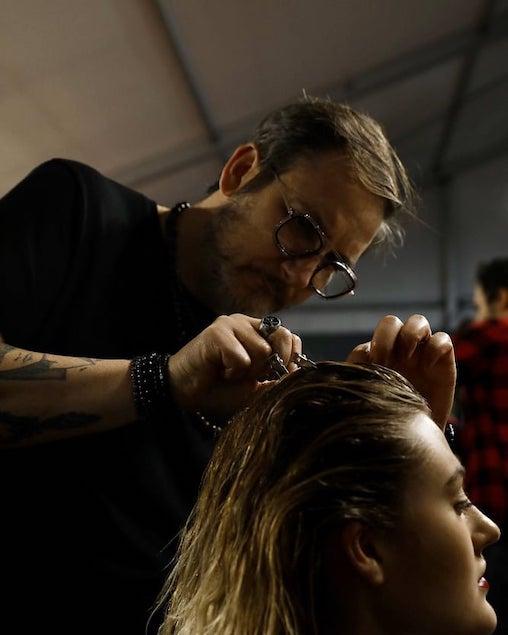 Il lametino Francesco Estini tra gli acconciatori alla Milano Fashion Week