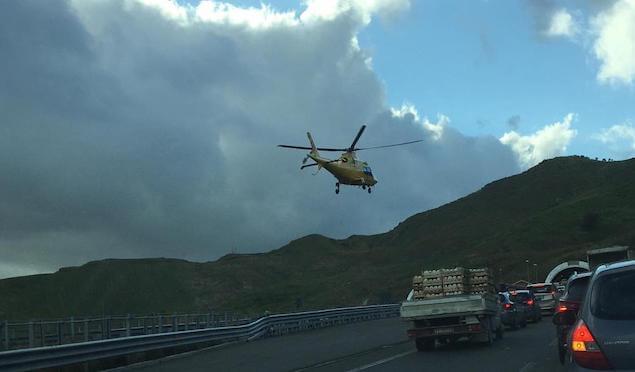 Incidente stradale tra le uscite di Catanzaro Est e Catanzaro Sud, due feriti