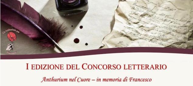 """Lamezia. Al via prima edizione concorso letterario """"Anthurium nel cuore-in memoria di Francesco"""""""
