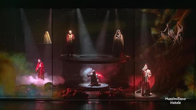 """Trionfo per la """"Divina Commedia Musical"""" al Politeama di Catanzaro"""