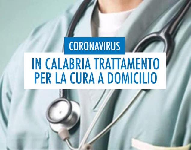 Coronavirus. In Calabria un trattamento per la cura a domicilio