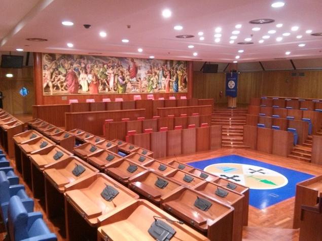 Aula consiglio regionale della Calabria