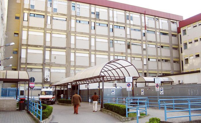 L'ingresso dell'ospedale 'Pugliese', Catanzaro