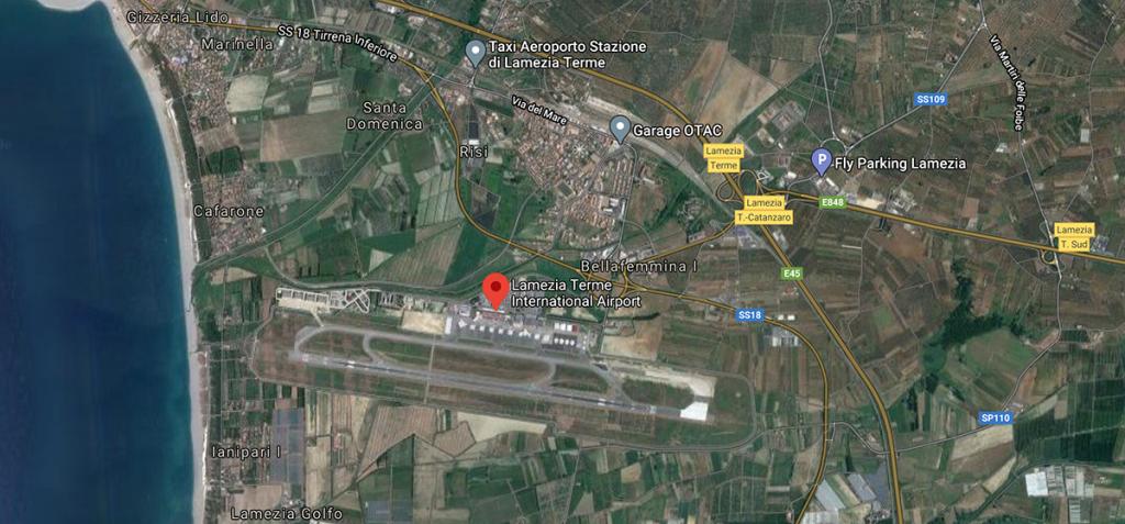 Aeroporto Lamezia Terme: dove si trova