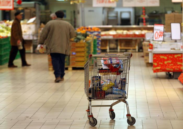 Istat: carrello spesa maggio +2,6%