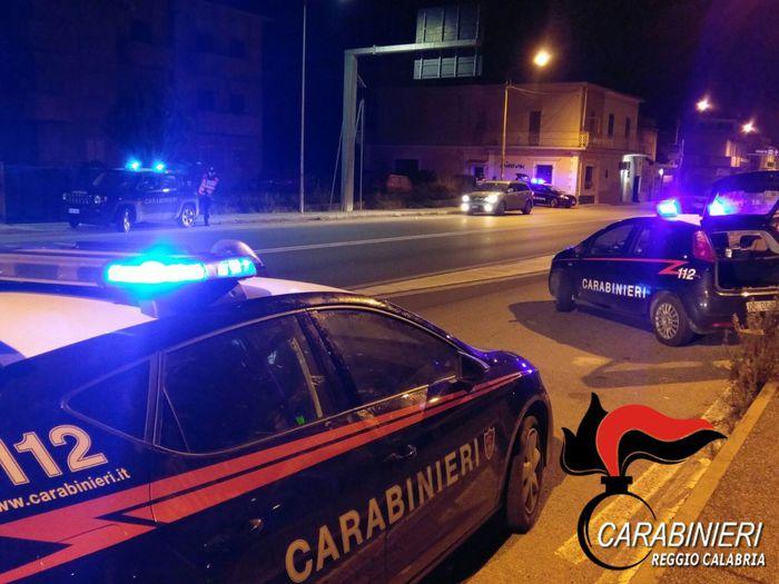 Pattuglie dei carabinieri a Reggio Calabria