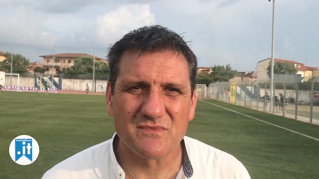Amichevole Promosport - Vigor Lamezia- intervista a mister Morelli