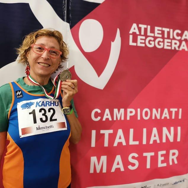 La lametina Saveria Sesto argento ai campionati italiani di Arezzo