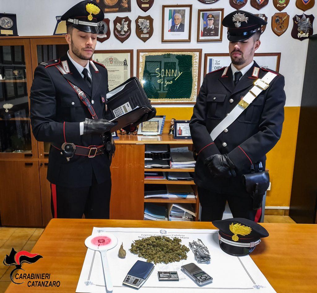 carabinieri sequestro catanzaro 16 novembre