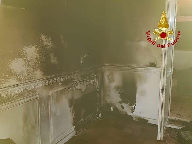 Falerna (CZ). Incendio in abitazione, illesa 90enne