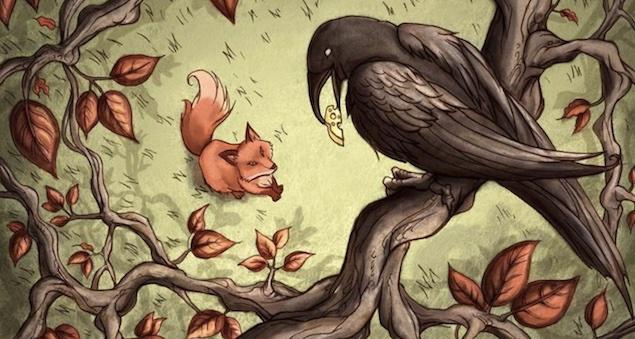 Il corvo e la volpe