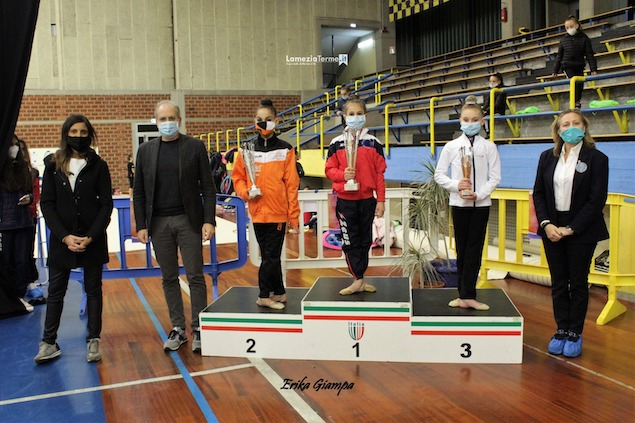 Lamezia. Concluso il campionato Interregionale Gold Allieve di Ginnastica Ritmica