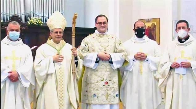 Lamezia. Don Francesco Benvenuto ordinato diacono