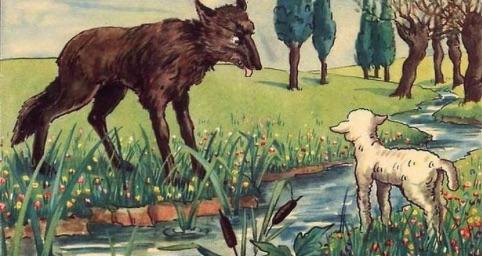 Il lupo e l'agnello in versione dialettale e non solo…