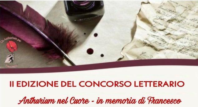 Concorso Letterario Anthurium nel cuore, bandita la seconda edizione
