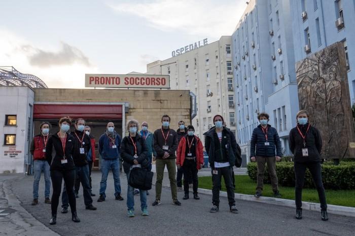 Covid: al via attività reparto Crotone gestito da Emergency