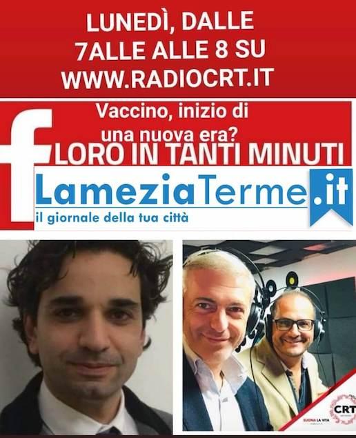 Floro in Tanti Minuti con Filippo Rocca e Giuseppe Cotroneo