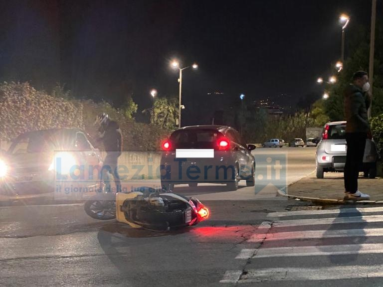 Lamezia. Incidente stradale su via Misiani