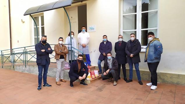 Lega Lamezia fa visita all'Istituto Tamburelli e all'Istituto Sant'Antonio