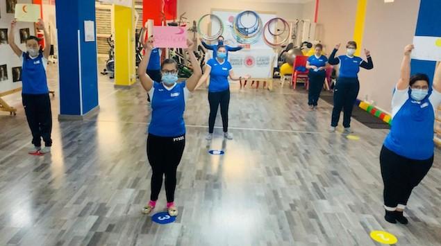 La Lucky Friends partecipa al flashmob per la Giornata della Disabilità