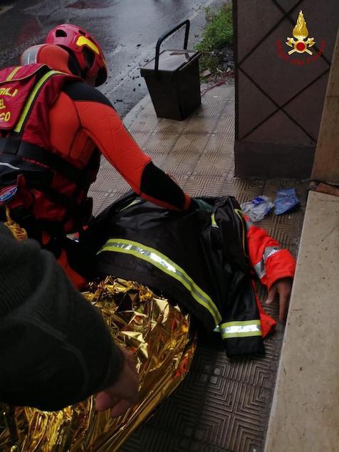 Maltempo a Reggio Calabria: numerosi interventi dei vigili del fuoco