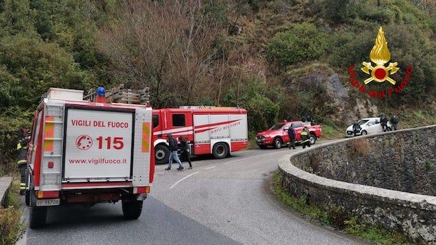Martirano (CZ). Vigili del fuoco recuperano salma di 81enne scomparso ieri