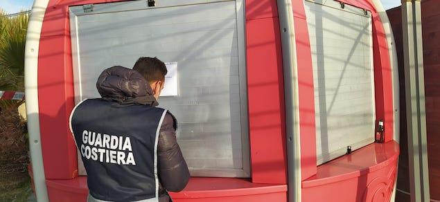 Nicotera (VV). Sequestrata area demaniale occupata senza concessione