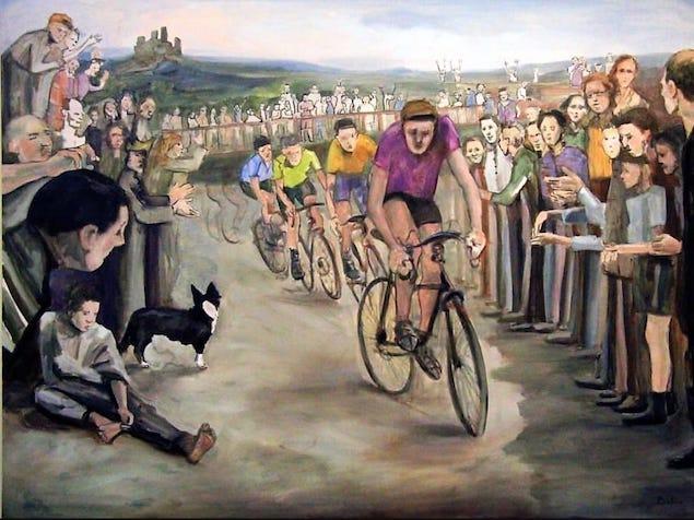 Strage 8 ciclisti: l'artista Marcello Balistrieri dona opera-ricordo alle scuole