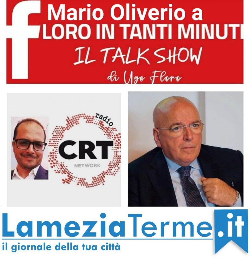 Floro in tanti minuti con Mario Oliverio