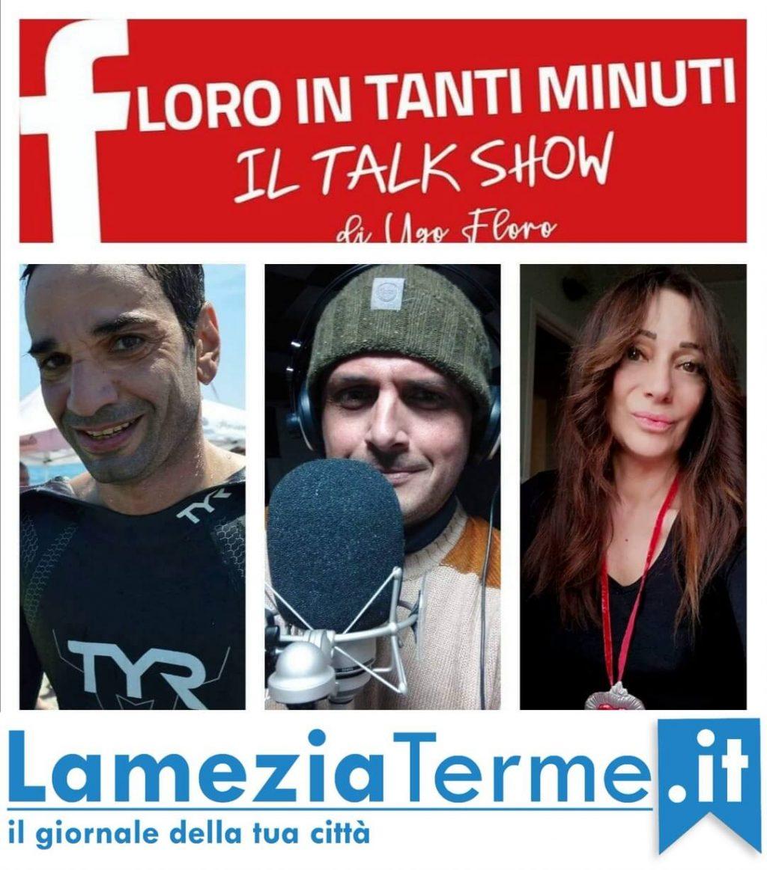 Floro in Tanti Minuti con Filippo Rocca e la scrittrice Grazia Ciappetta