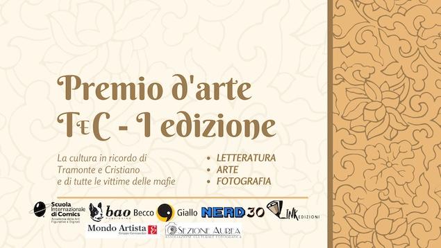 Nasce il Premio d'Arte TeC, in memoria di Tramonte e Cristiano